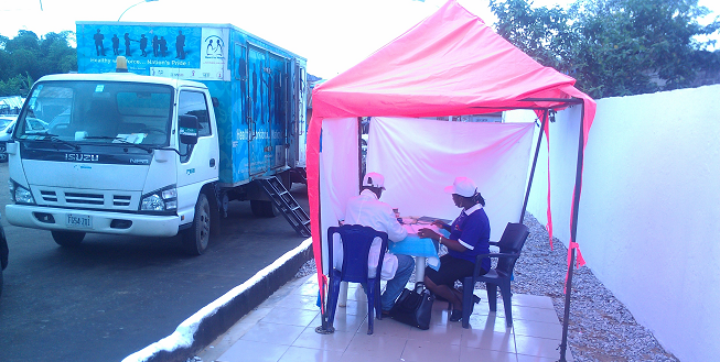 Provision of HCT by NiBUCAA's mobile team