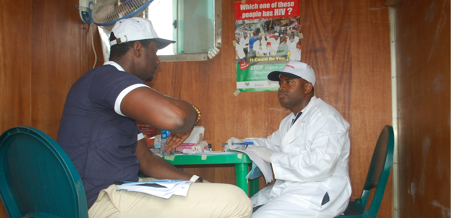 Provision of HIV counseling and testing services using mobile van