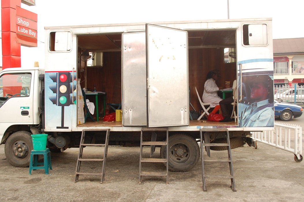 Mobile HCT at Total Service Station